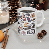 Cats with Wine Coffee Mug - Cat Lady Gifts - Meme Cuisine