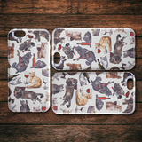 Cats with Wine iPhone Case