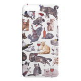 Cats with Wine iPhone Case - Funny Cat iPhone 7 Plus / 8 Plus Case - Meme Cuisine