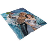 An Office Romance Fleece Throw Blanket - Meme Cuisine - Meme Blankets