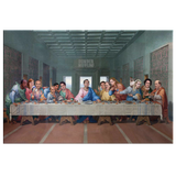 The Last Supper at Dunder Mifflin Canvas Print - Meme Cuisine - Meme Canvas Wall Art 2