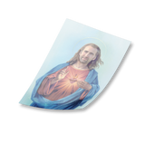 Nicolas Cage as Jesus Rectangle Sticker [new]