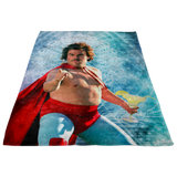Nacho Libre Fleece Throw Blanket