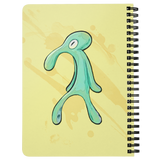 "Spongebob Bold and Brash Spiral Notebook - 5x7""  Lined Journal - Funny Squidward Meme Gift"