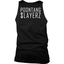Poontang $layerz Mens Tank Top 2 - Cat Coffee Cup