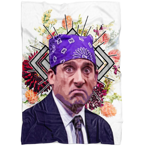 Michael Scott as Prison Mike Fleece Throw Blanket | The Office TV Show Funny Home / Dorm Decor Housewarming GiftMichael Scott as Prison Mike Fleece Throw Blanket | The Office TV Show Funny Home / Dorm Decor Housewarming Gift