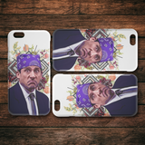 Michael Scott as Prison Mike iPhone Case