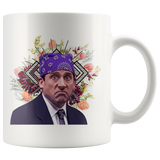 Prison Mike Coffee Mug - Funny Michael Scott The Office TV Show Gifts - The Office fan gift