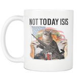 Not Today Isis Mug - Cat Coffee Cup