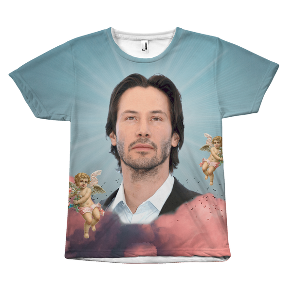 Keanu in the Clouds Shirt - Funny Keanu Reeves Meme Apparel