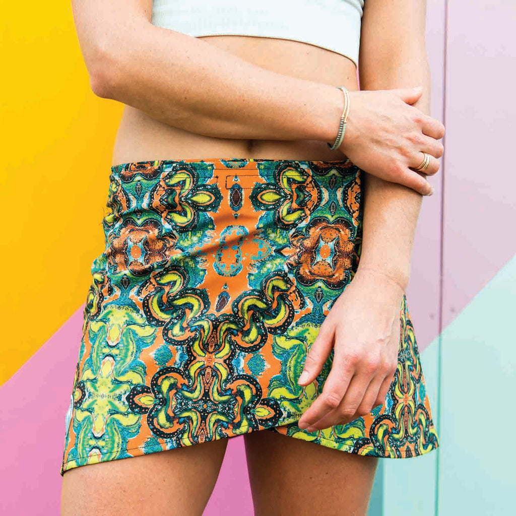 Pop Skirt Paisley