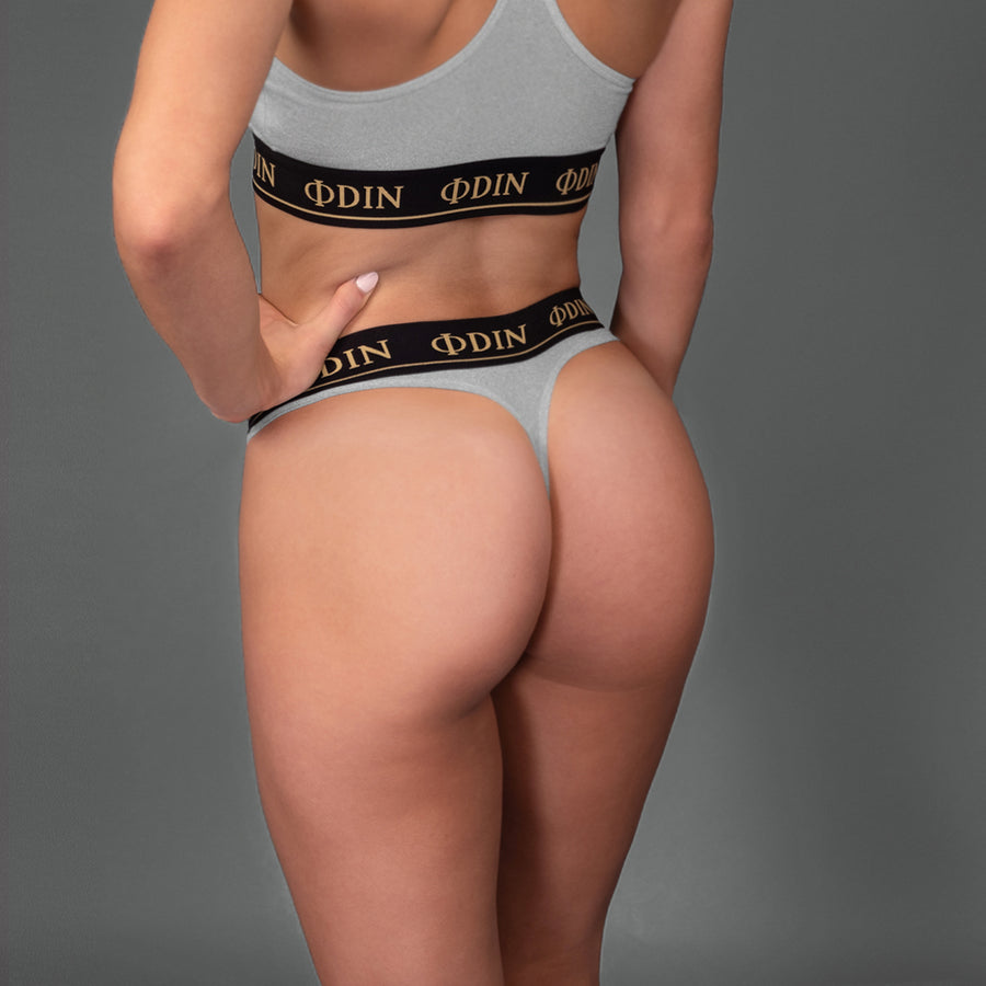 Silver - Sports Underwear Bottom