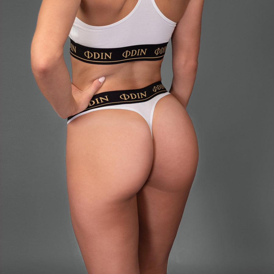 White Kashmir - Sports Underwear Bottom