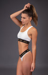 White Kashmir - Sports Underwear Top
