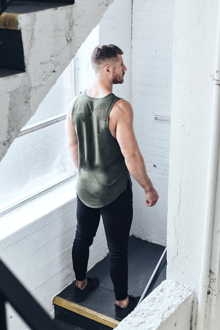 Tank Top - Earthen Green