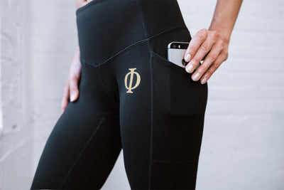 Serenity - Nightmare Black Legging