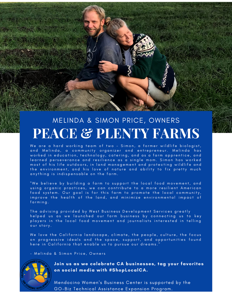 Peace and Plenty Farm Honored by Governor Gavin Newsom