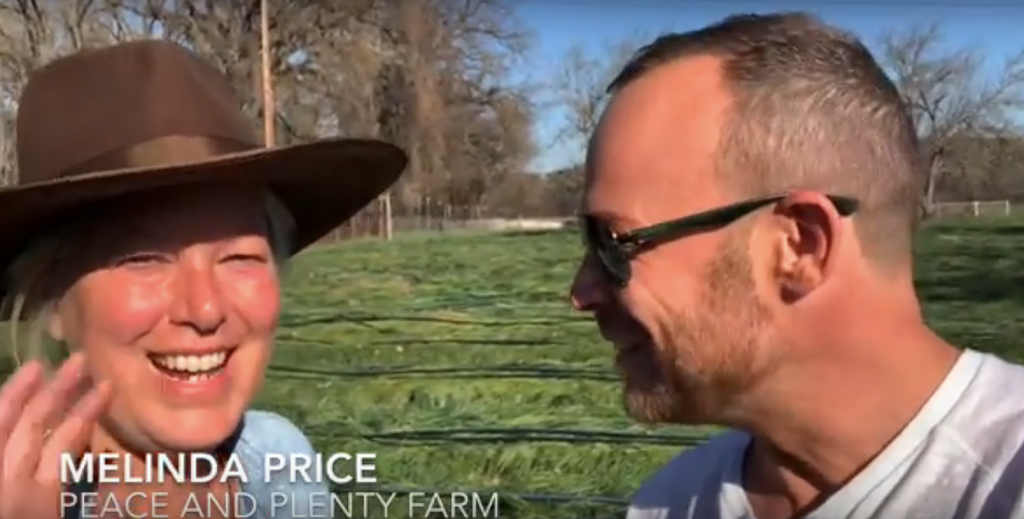 KVIE's Rob on the Road visits Peace and Plenty Farm