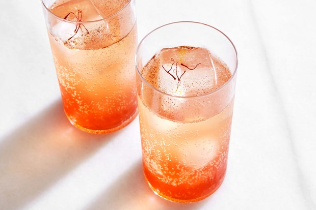 Recipe: Sumac & Saffron Refresher – Epicurious