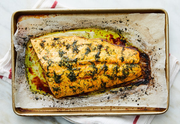 Recipe: Roasted Dill Salmon – NY Times