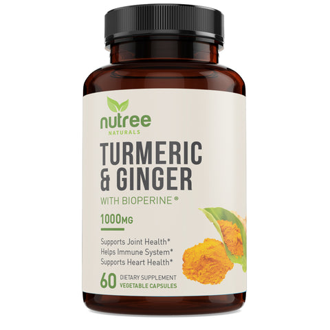 Nutree naturals organic Turmeric and Ginger