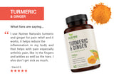 Nutree naturals organic Turmeric and Ginger review