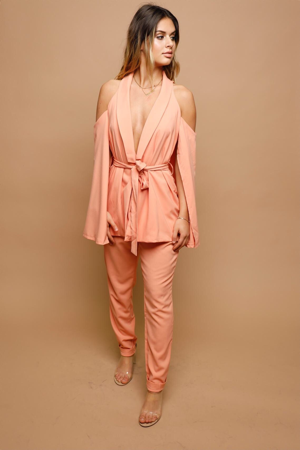Peach Kisses Jumpsuit