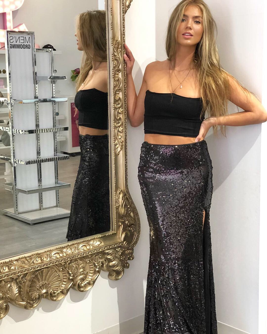 Star Of The Show Maxi Skirt