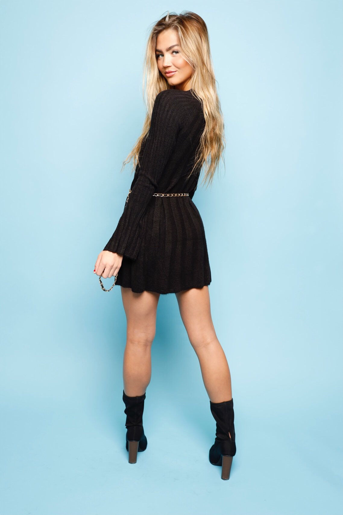 On The Loose Sweater Dress