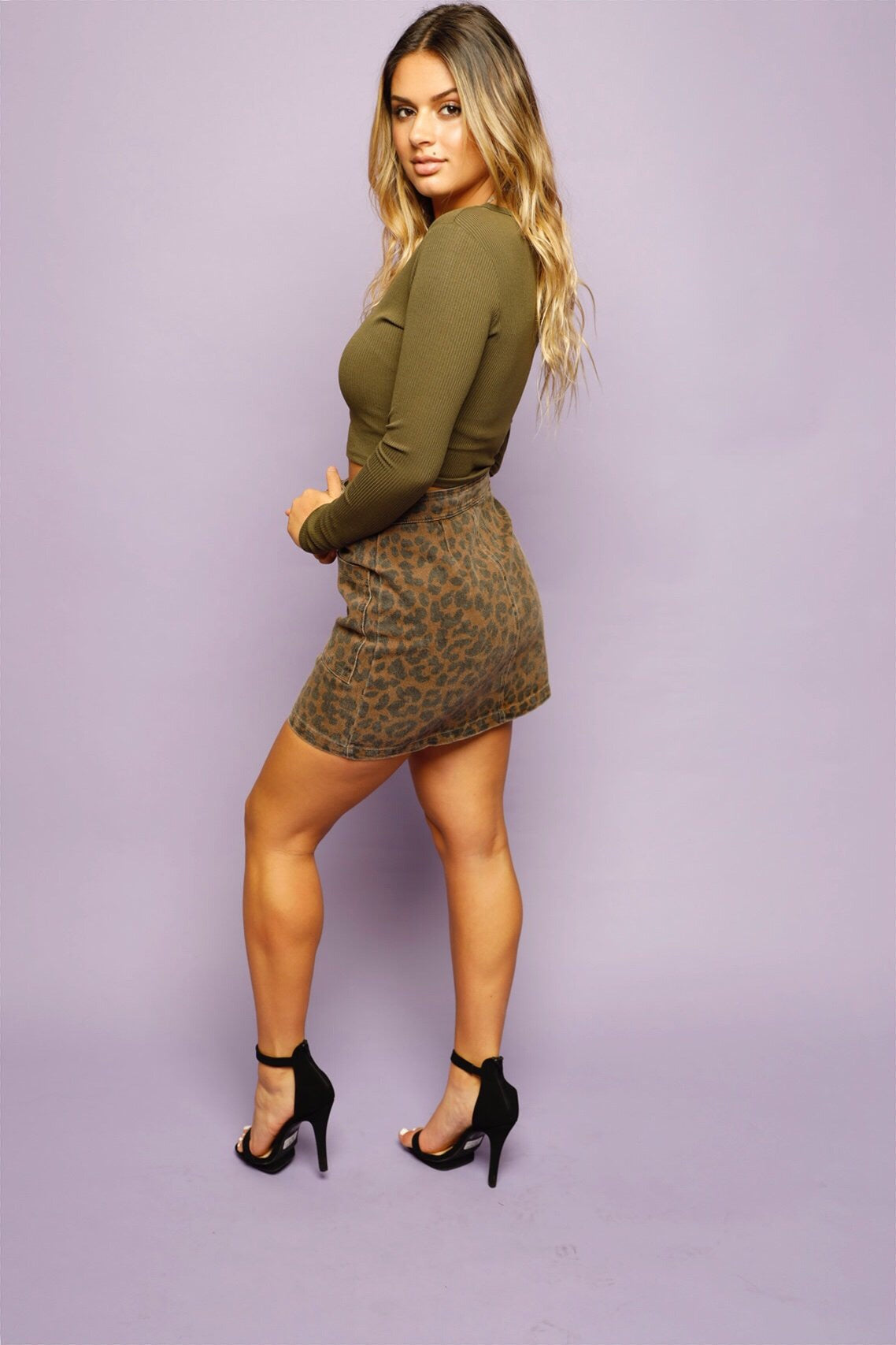 Fierce Feline Skirt