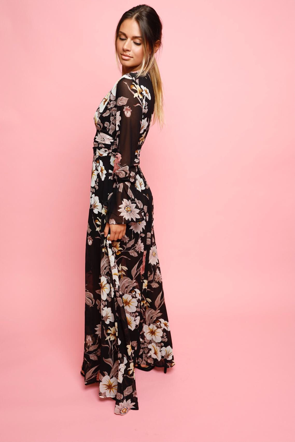 Nightingale Floral Maxi Dress