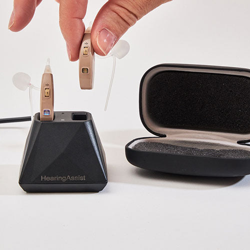 hearing assist behind the ear