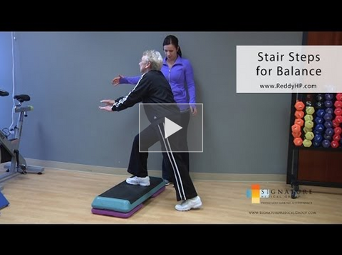 Stair tapping