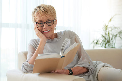 Reading indoor activity for seniors