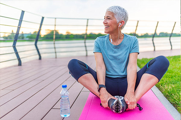Mobility helps to regain confidence