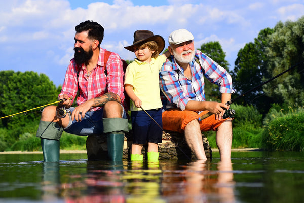 father's day activity ideas - Get the grandchildren involved
