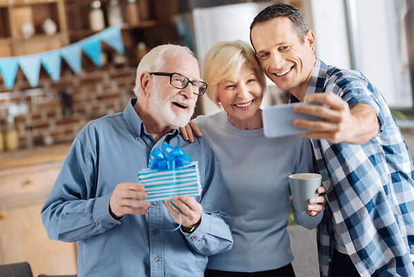 Celebrate National parents Day with older parents
