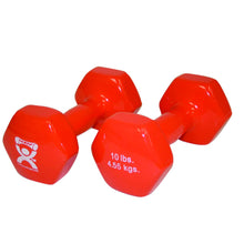 Load image into Gallery viewer, CanDo vinyl coated dumbbell - pair