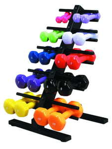 CanDo vinyl coated dumbbell