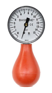 Baseline Dynamometer - Pneumatic Squeeze Bulb - 30 PSI Capacity, with reset