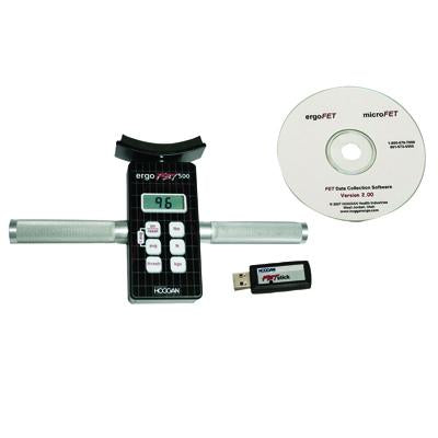 ErgoFET500 Push-pull dynamometer - with data collection software