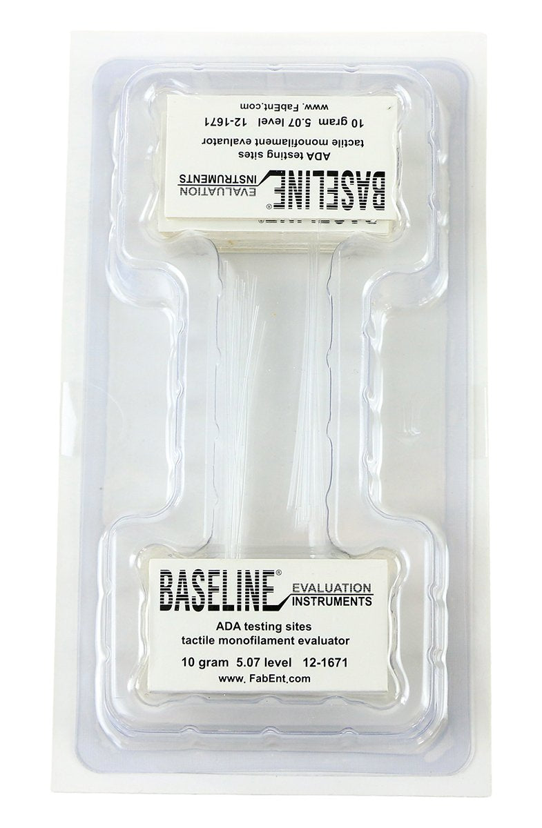 Baseline Tactile Monofilament - ADA Program - Disposable - 5.07 - 10 gram - 20-pack