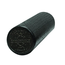 Load image into Gallery viewer, CanDo Foam Roller - Black Composite - Extra Firm