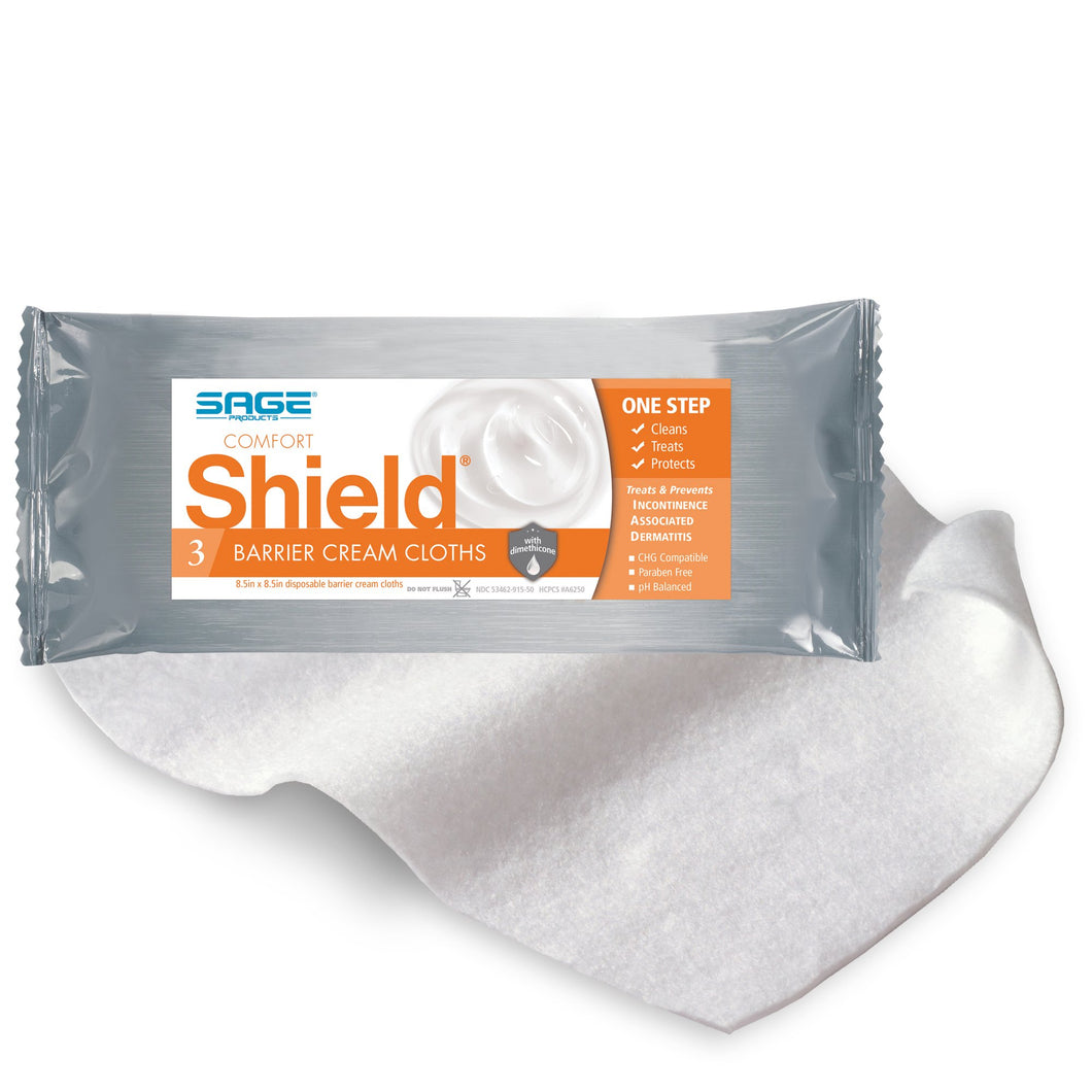 Shield(R) Barrier Cream Cloths, Soft Pack