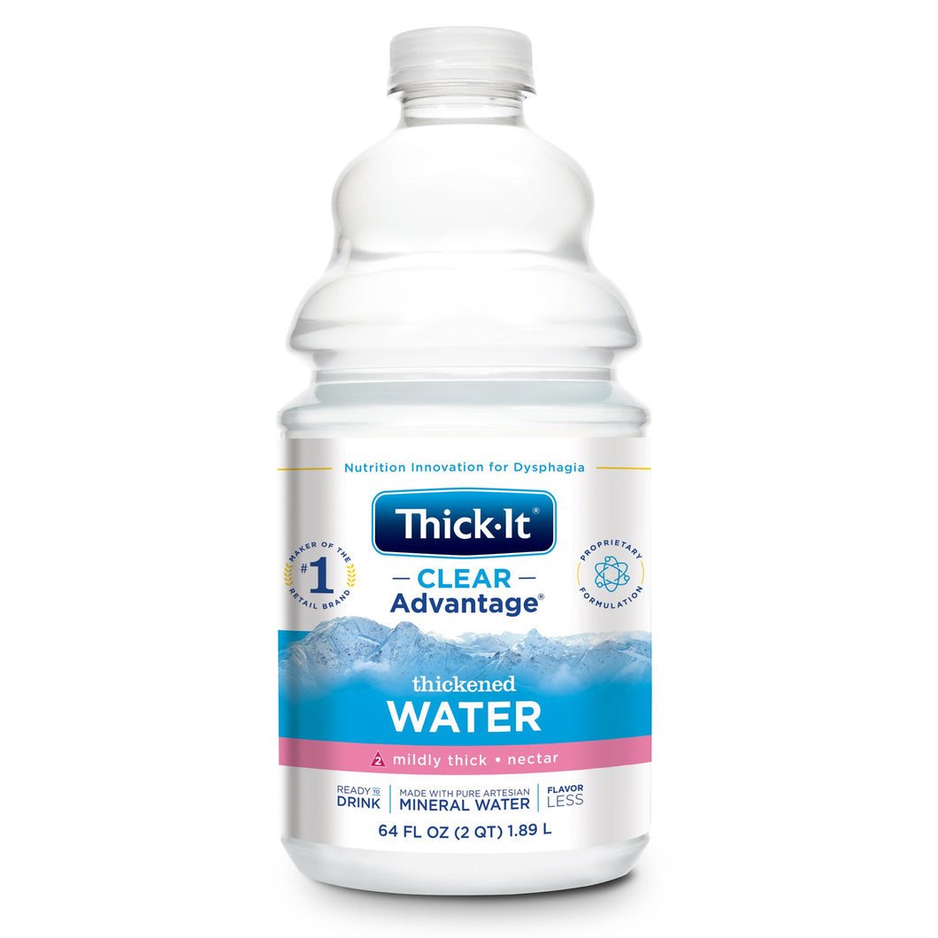 Thick-It(R) Clear Advantage(R) Nectar Consistency Thickened Water, 64 oz.