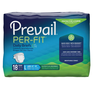 Prevail(R) Per-Fit(R) Maximum Incontinence Brief, Large