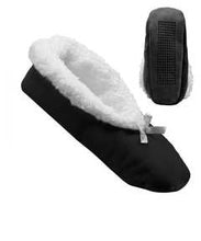 Load image into Gallery viewer, Extra Wide Fleece Slippers For Women