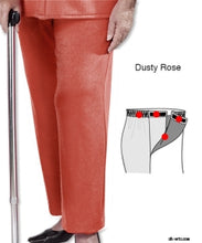 Load image into Gallery viewer, Adaptive Open Side Fleece Pants For Arthritis