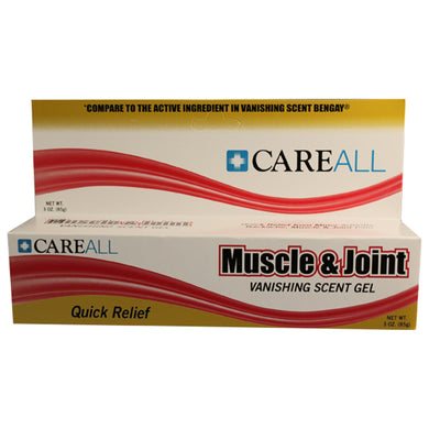 CareAll Menthol Topical Pain Relief, 3 oz. Tube