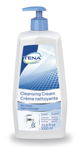 TENA(R) Scented Cleansing Cream, 33.8 oz. Pump Bottle